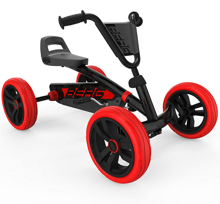 Trampbil BERG Buzzy Red-Black